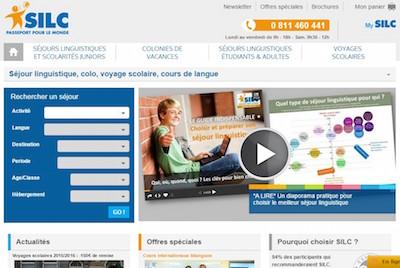 Le site web de l'organisme Silc