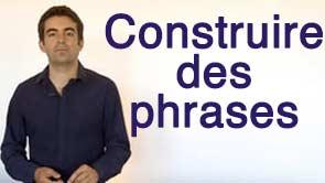 Semaine 3 – Construire des phrases en anglais