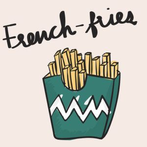 Frites = Chips ou French Fries