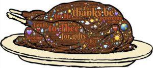 La dinde de thanksgiving