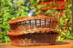 A picture of baskets