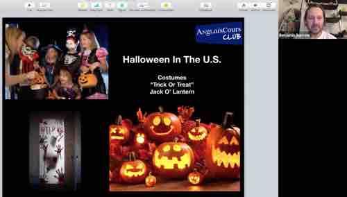 Compréhension avec Ben, sur Halloween – 30 octobre 2019