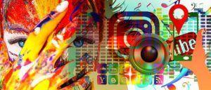 Apps, oeil, logo Instagram