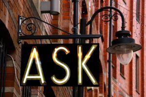 """panneau """"ASK"""""""