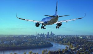 We will be landing shortly (image of a plane landing)